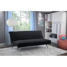 your zone harlee microfiber junior futon walmart com