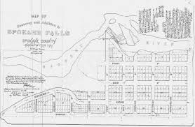 Map Of Spokane Spokane Historic Preservation Office Riverfront Park History