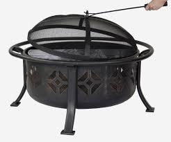 Firepit Bowl by Pleasant Hearth 36 Inch Sunderland Deep Bowl Fire Pit Ofw110r