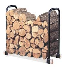 firewood racks fireplaces the home depot