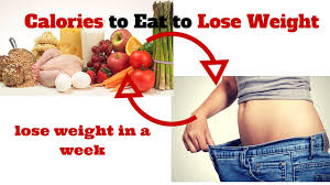 how many calories to eat to lose weight lose weight in a week