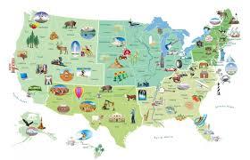 Arkansas Map Us U S Landmarks And Icons Map U2013 Speakeasy News