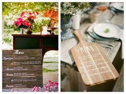 prã sentation menu mariage et voici le menu présenté avec originalité