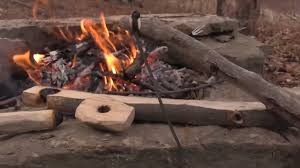 how to start a fire with sticks with pictures wikihow