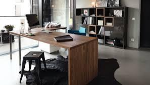 walnut desk metal contemporary corner now time 960402
