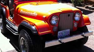 jeep scrambler for sale near me 1978 jeep cj 5 renegade levi edition 304 v 8 for sale youtube