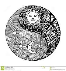 sun moon yin yang symbol stock illustrations 38 sun moon yin