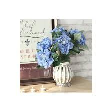 Vases With Fake Flowers Home Decor Floral Arrangements Scotland Hydrangea Silk Flowers
