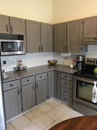 painted grey kitchen cabinet ideas after painted grey kitchen cabinets with benjamin