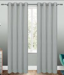 Glitter Curtains Ready Made Sparkle Silver Ready Made Blackout Eyelet Curtains Harry Corry