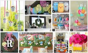 homemade easter decorations for the home easter decor holidays pinterest easter decor easter