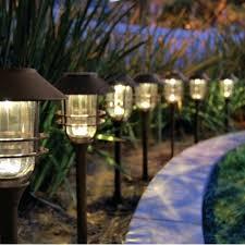 solar path lights reviews good solar landscape lights best solar landscape lights brightest