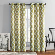 Home Classics Blackout Curtain Panel by 2 Pack Tribeca Diamond Blackout Window Curtains