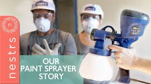 can you use a paint sprayer to paint kitchen cabinets how to use a paint sprayer indoors