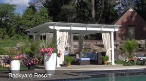 Motorized Pergola Cover by Motorized Pergola Lifestyle Remodeling Tampa Florida Youtube