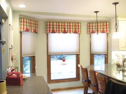 curtain ideas for dining room interior bay window curtains on the yellow wall with