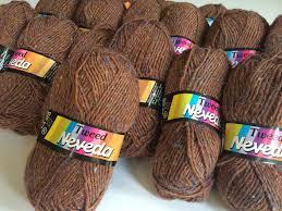 Viscose Rugs Made In Belgium Nevada Tweed Yarn Nice Brown With Color Specs Acrylic Virgin