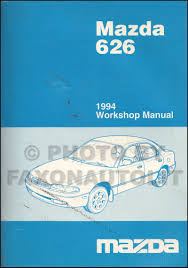 1994 mazda 626 u0026 mx 6 repair shop manual original