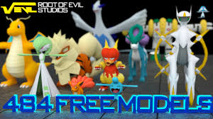 484 free pokemon 3d models shinys download by themoderator