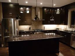 Black Kitchen Cabinets Design Ideas Granite Countertops With Light Cabinets Home Inspirations