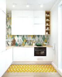 tapis pour cuisine tapis de cuisine tapis bambou tapis antiderapant cuisine gifi