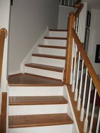 false stair tread riser kit home depot little creek maple farm