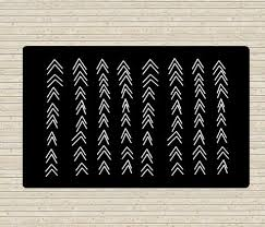 White Accent Rug Black And White Rug Accent Rugs Dorm Rugs 5x8 Rug Modern