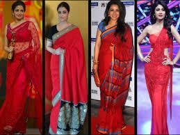 Drape A Sari 8 Sensuous Ways To Wear A Red Saree With Style Boldsky Com