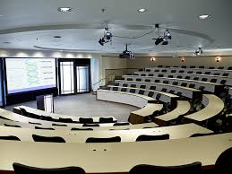 Lecture Hall Desk Conference Miking Seven Spaces Seven Solutions Shure Blog