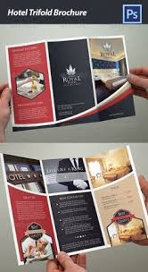 free templates for hotel brochures hotel trifold brochure 5 brochure template brochures and template