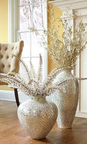 oversized home decor gold jeweled foxtail stem apartment christmas decorations home decor