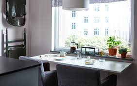 a dining idea for a small kitchen