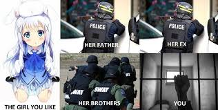 Swat Meme - in short the girl is a trap lolicon know your meme