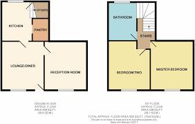777 Floor Plan by 2 Bedroom Terraced House For Sale In Moors Lane Feckenham B96