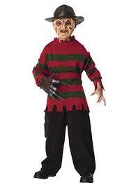 Scary Halloween Costumes For Kids Deluxe Child Freddy Krueger Sweater 28 99 Halloween Pinterest