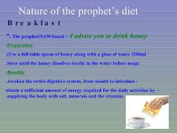 inspired by prophet muhammad saaw eating his foods for one day
