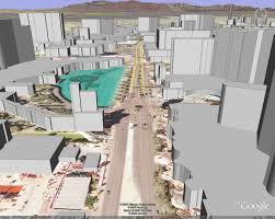 Google Maps Las Vegas Strip by Google Earth Vs Microsoft Virtual Earth 3d