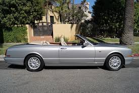 bentley azure convertible 1999 bentley azure parchment with blue piping stock 723 for sale