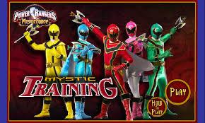 power rangers mystic force mystic training cosminalin deviantart