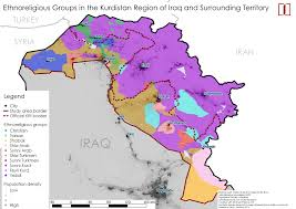 Map Iraq Download Map Of Iraq And Surrounding Area Major Tourist