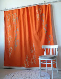 Tahari Home Drapes by Coral Damask Curtains Coral Ruffle Curtains Etsy Coral U0026