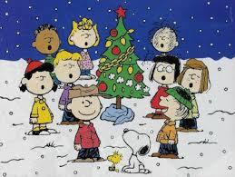 linus christmas tree merry christmas brown