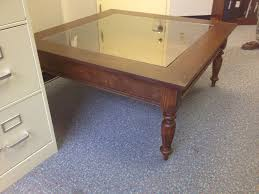 glass shadow box coffee table how to build glass top shadow box coffee table
