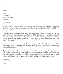 sample professional thank you letters