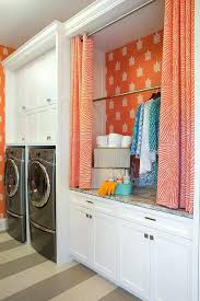 Laundry Room Curtains Laundry Room Curtains Laundry Room With Drying Rack By