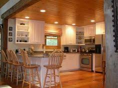 Kitchen Pine Cabinets Colors That Work With Knotty Pine Walls U0026 Ceilings Pine Ing Away
