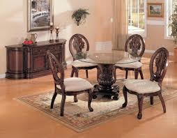 formal glass dining room sets round table set tempered u2013 premiojer co