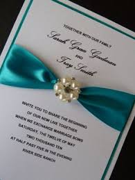 teal wedding invitations teal ivory and silver wedding invitation by urinvitedus on etsy