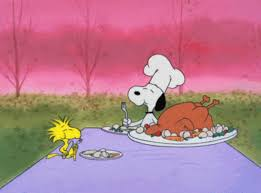 thanksgiving happy thanksgiving brown snoopy eat