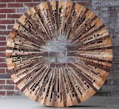 scrap wood sculpture cool contemporary wood sculpture made from scrap upcycling wood